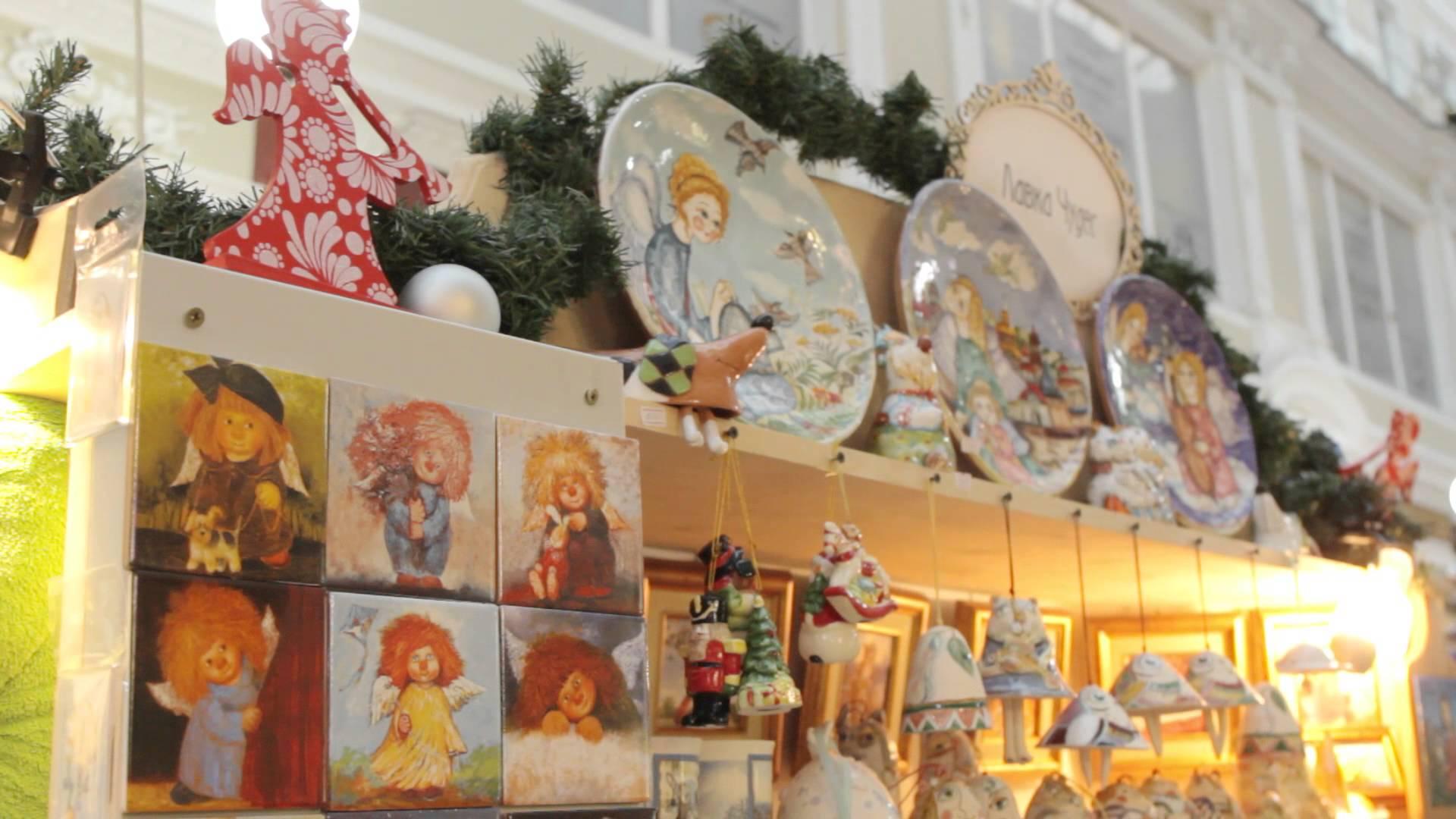 Развлечения рождественских ярмарок фото