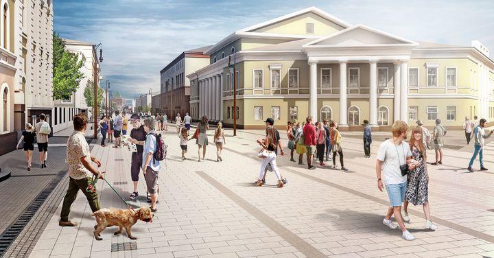 Проект новой улицы фото