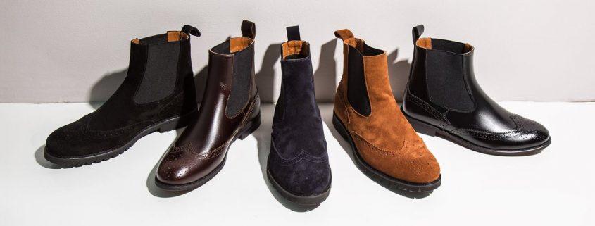 Высокие ботинки фото