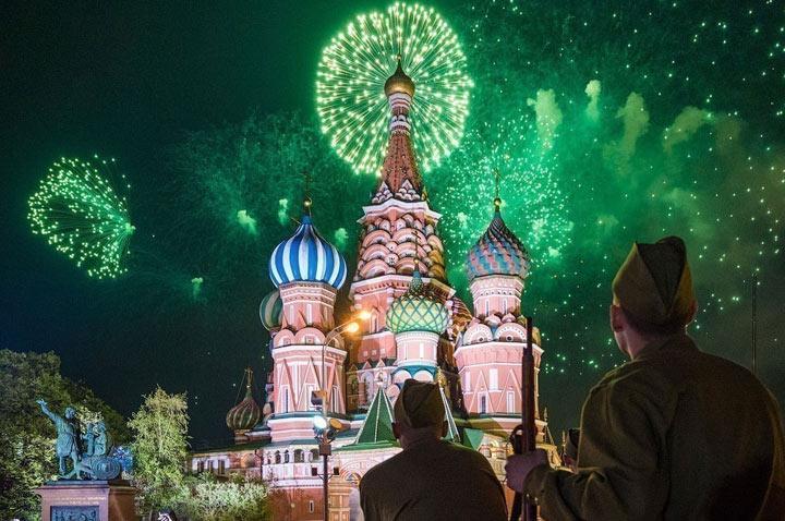 Где посмотреть салют в Москве на 9 мая 2020 года