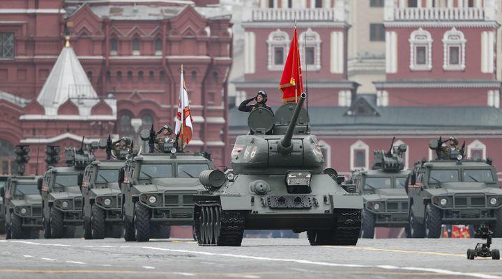 Парад на 9 мая в Москве