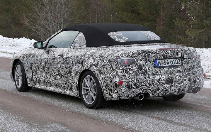 BMW 4-series 2020 года с мягкой крышей
