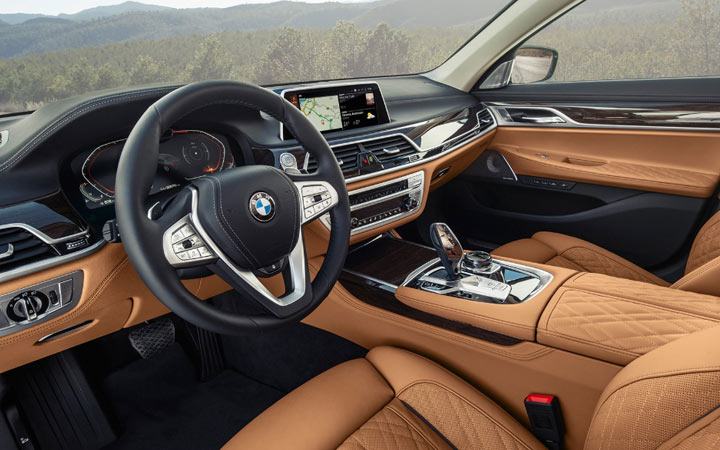 Интерьер BMW 4-series