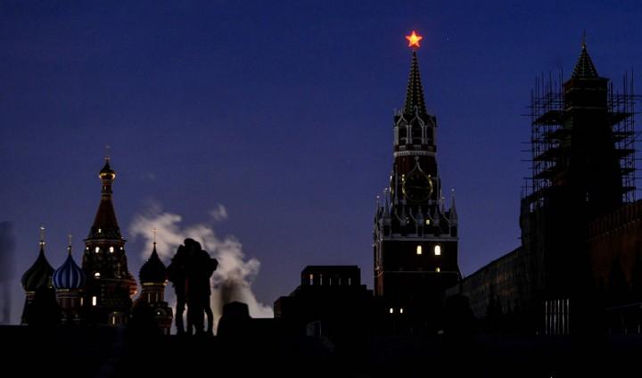 отключение света на красной площади