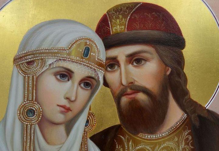 Святые супруги Петр и Феврония