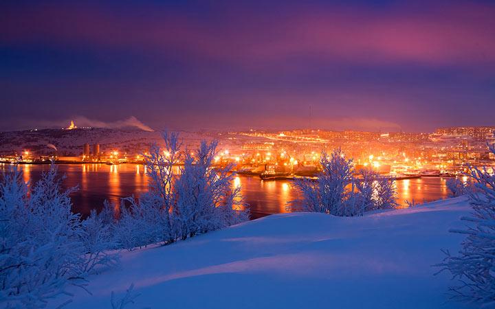 Долгота дня в январе 2020 года в Мурманске