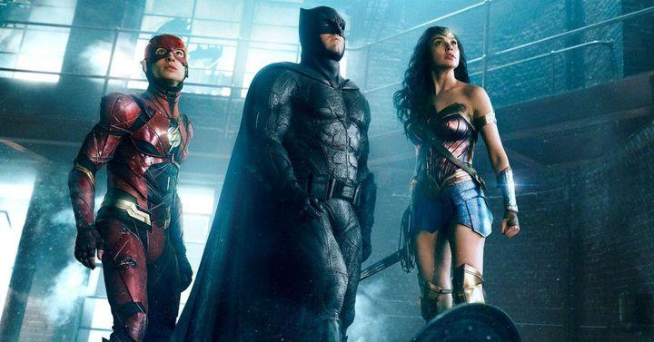 Флеш Бетмен и Супервумен