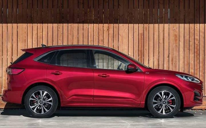 Габариты нового Ford Kuga 2020