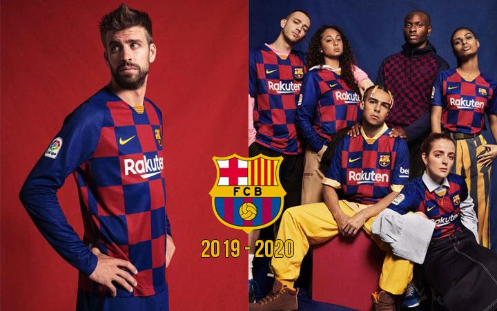 Новая домашняя форма для Барселоны сезона 2019-2020