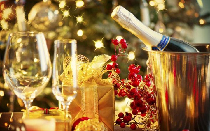 Шампанское и другие напитки на Новый Год 2020