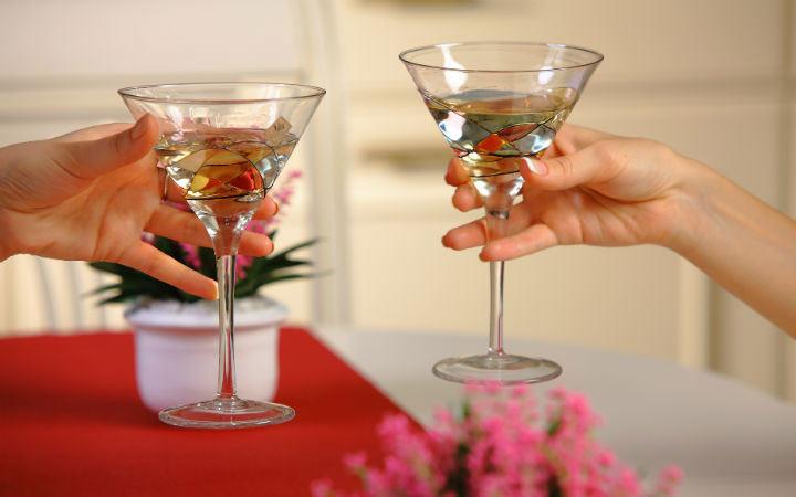 Мартини и другие напитки на Новый 2020 год