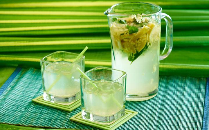 Имбирный лимонад с мятой и другие напитки на Новый 2020 год