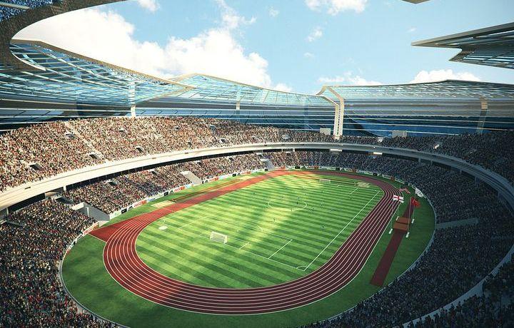 Стадион Олимпийский в Баку