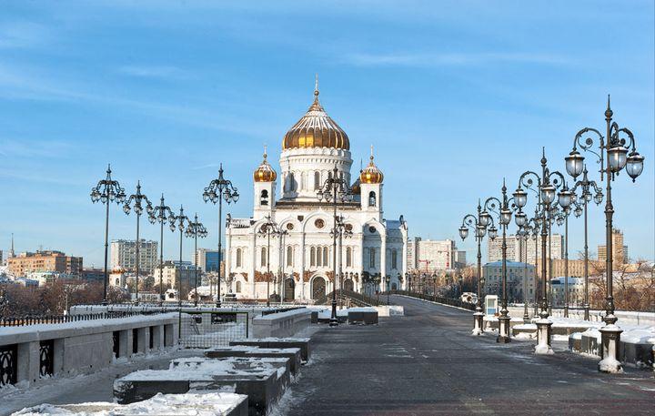 Храм Христа Спасителя в г. Москва