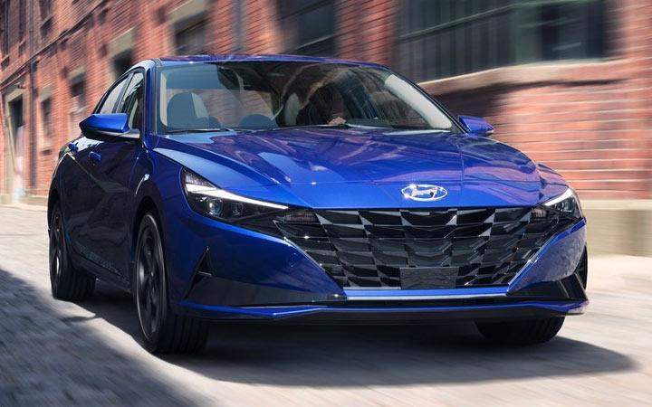 Технические характеристики Hyundai Elantra 2021 года