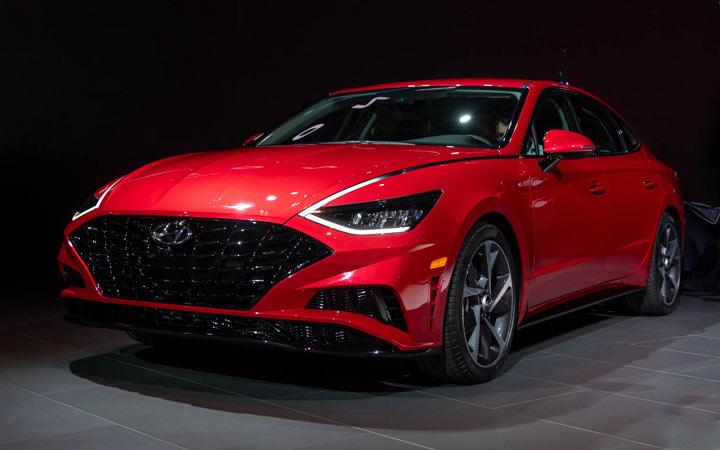 Экстерьер Hyundai Sonata 2020