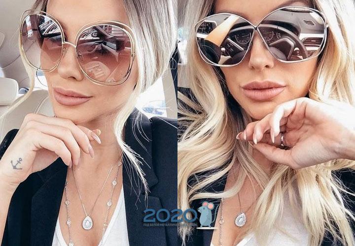 Очки оверсайз - модные модели 2019-2020 года