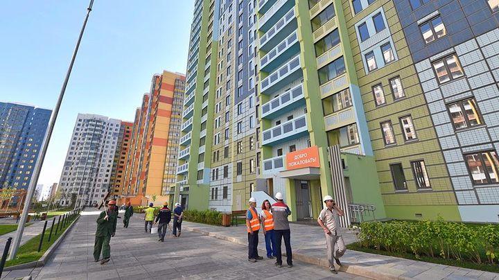 Строительство новых домой в Москве