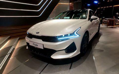 Kia Optima 2021 года в новом кузове