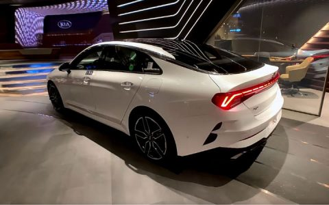 Kia Optima 2021 года экстерьер, интерьер, характеристики