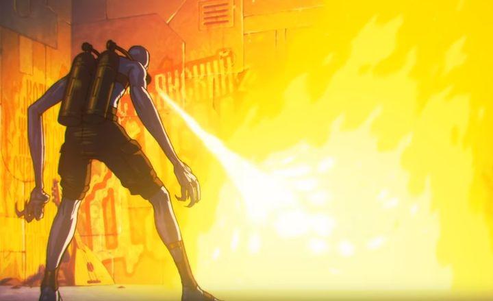 Кадры из фильма Киберслав