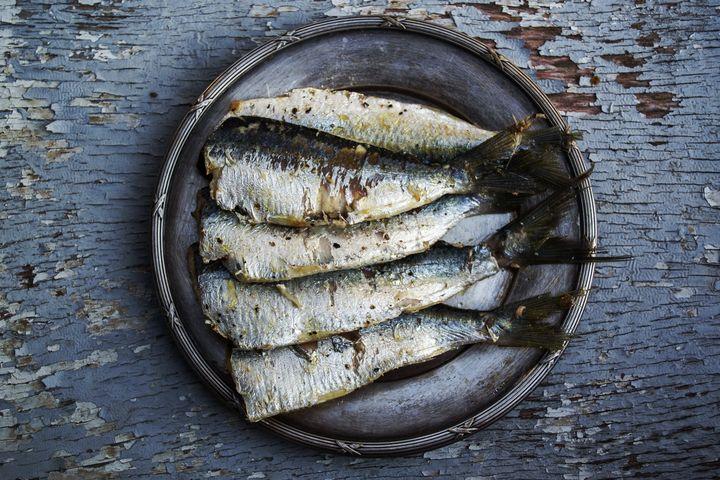 Постное рыбное блюдо