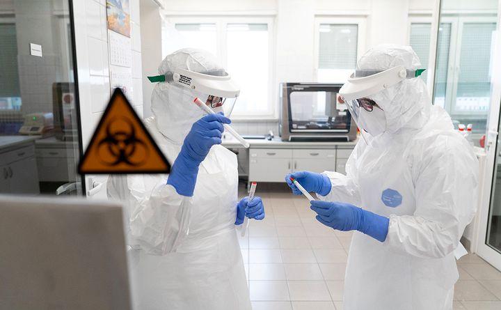 Лаборатория и ученые