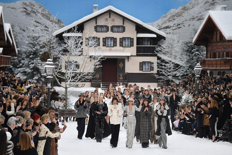 Коллекция Шанель осень-зима 2019-2020