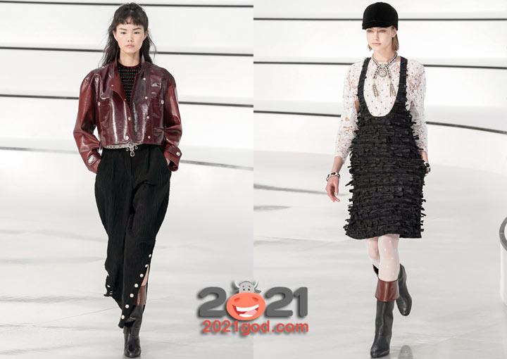 Коллекция Chanel осень-зима 2020-2021