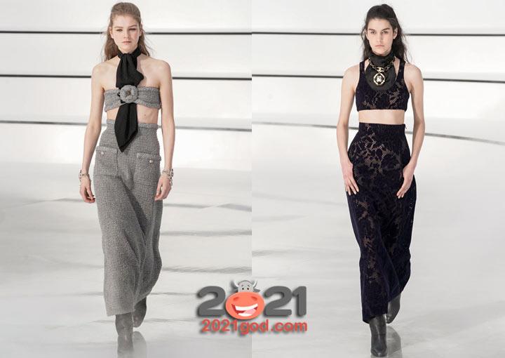 Модные луки от Шанель на 2021 год