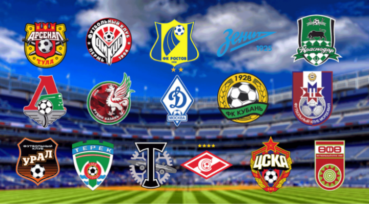логотипы команд рфпл