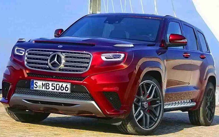 Mercedes-Benz GLB 2020 года