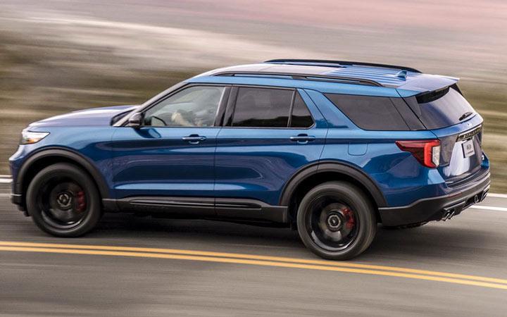Новый Ford Explorer 2020-2021