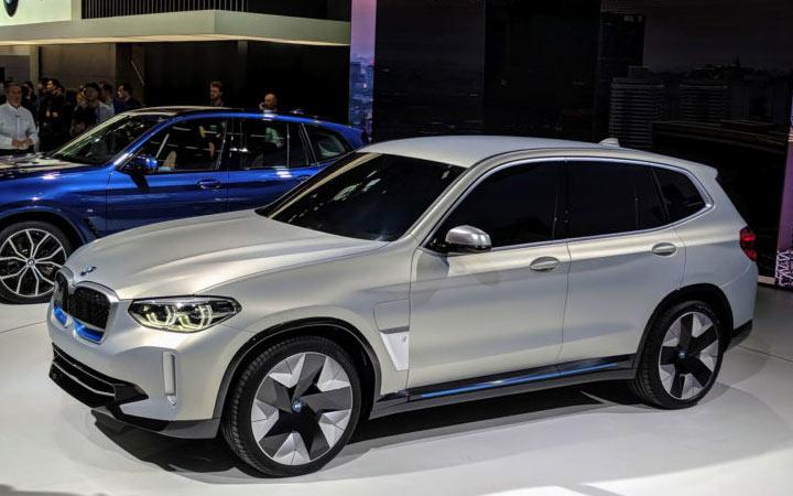 BMW iX3 2020-2021 года