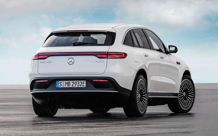 Новый Mercedes-Benz EQC 2020-2021