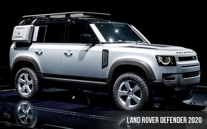 Land Rover Defender 2 поколение