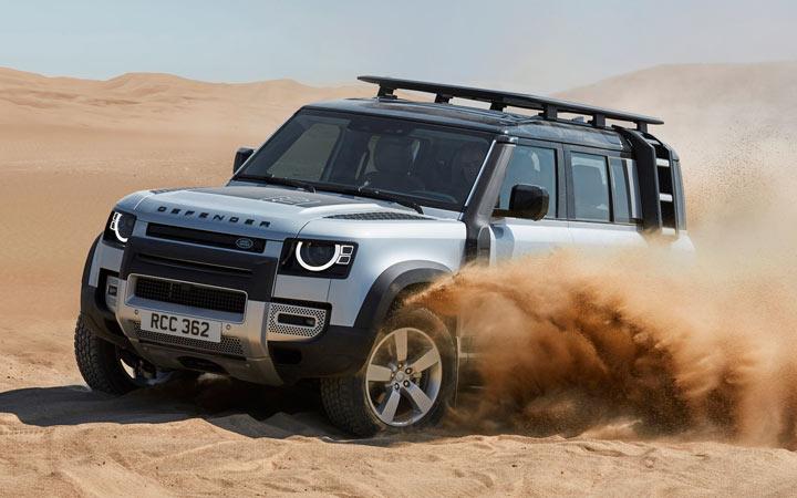 Land Rover Defender 2020 технические характеристики и цена