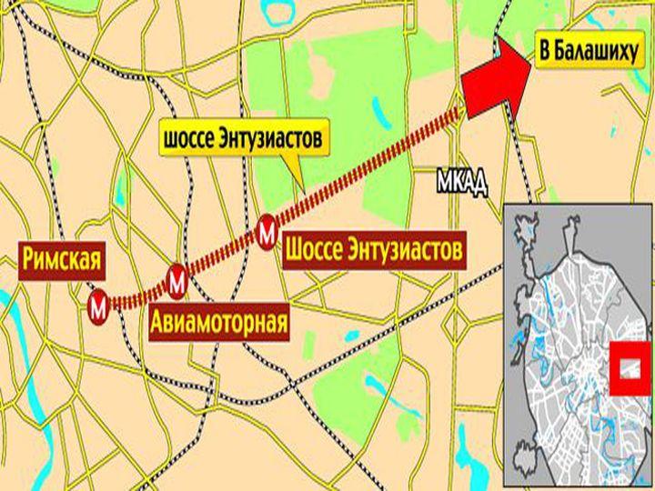 Легкое метро в Балашихе
