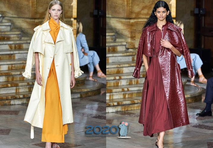 Необычные пальто весна 2020 года