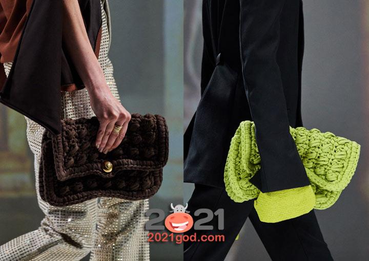Модные сумки Bottega Veneta на 2021 год