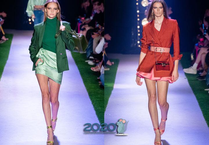 Модная мини-юбка весна-лето 2020