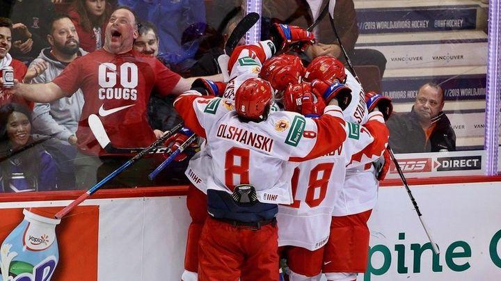Молодежная сборная РФ по хоккею