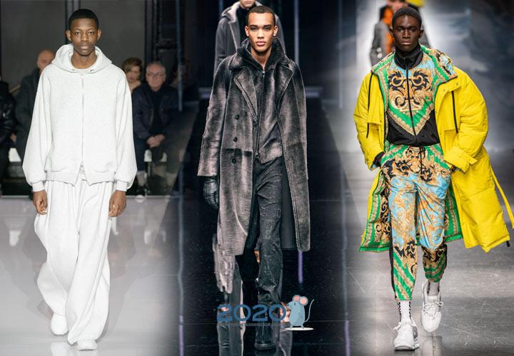 Модные мужские образы сезона осень-зима 2019-2020 года