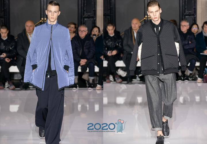 Модные мужские кейпы осень-зима 2019-2020 года