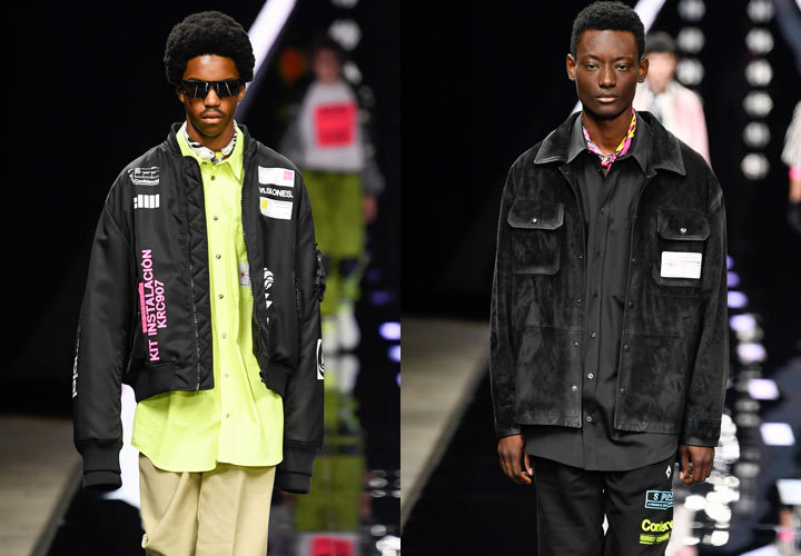 Черная мужская куртка 2019-2020