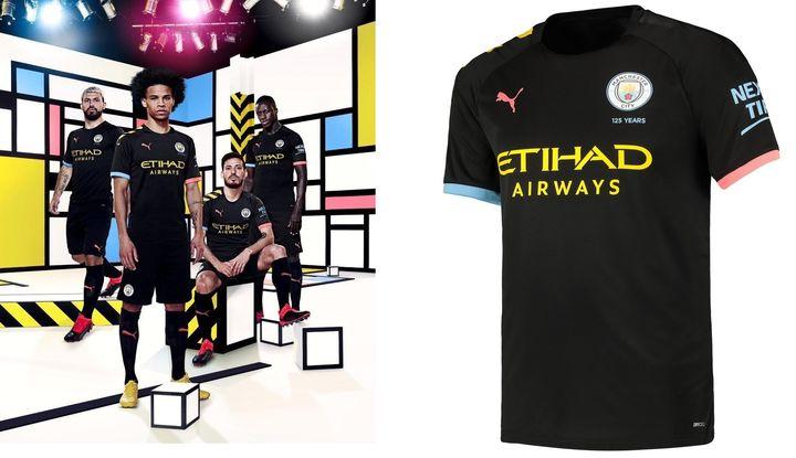 Гостевой комплект Новая домашняя форма Манчестер Сити 2019-2020 года