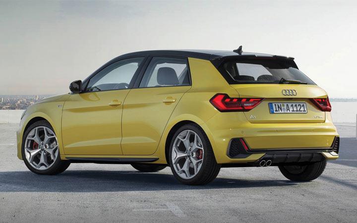 Экстерьер Audi А1 2019-2020 года