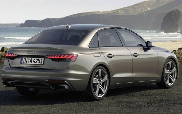 Экстерьер Audi А4 2019-2020 года