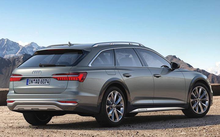 Экстерьер Audi A6 Allroad 2019-2020 года