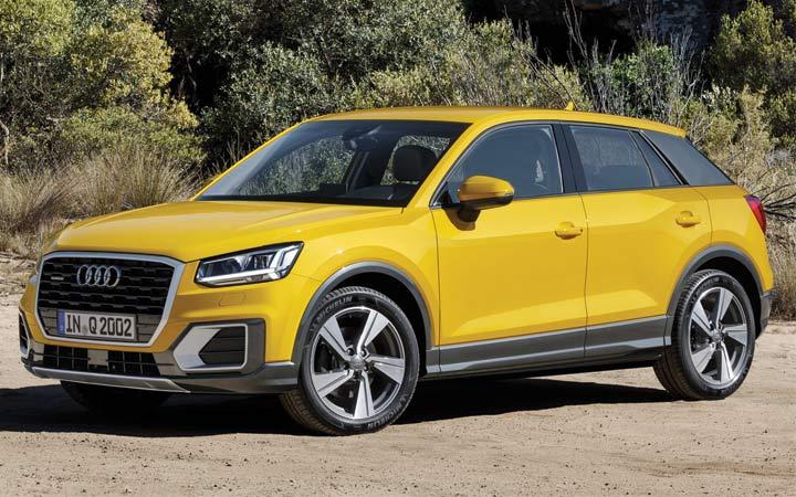 Audi Q2 2019-2020 года